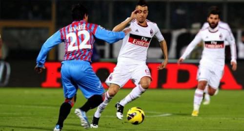 El Shaarawy come Neymar. Doppietta contro il Catania e tanti elogi per il Faraone